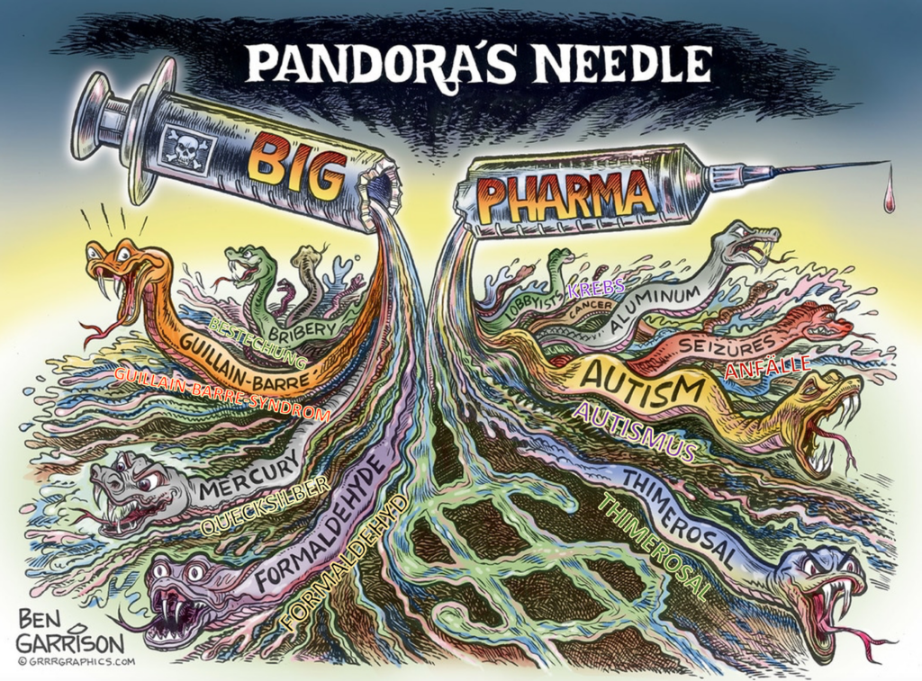 Pandora-Spritze ein BETRUGSSKANDAL